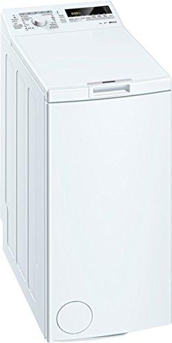 Siemens WP12T227 Waschmaschine TL / A+++ / 174 kWh/Jahr / 1140 UpM / 7 kg / 9240 L/Jahr / Großes Display mit Endezeitvorwahl / weiß