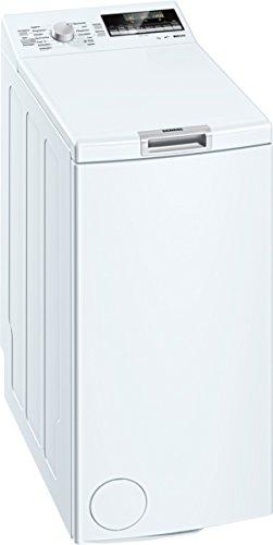 Siemens WP12T447 Waschmaschine TL / A+++ / 174 kWh/Jahr / 1140 UpM / 7 kg / 9240 L/Jahr / Großes Display mit Endezeitvorwahl / weiß