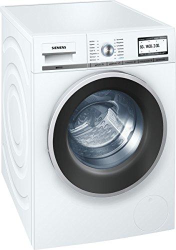 Siemens iQ800 WM14Y74D iSensoric Premium-Waschmaschine / A+++ / 1400 UpM / 8 kg / weiß / VarioPerfect / Super15 / Antiflecken-System