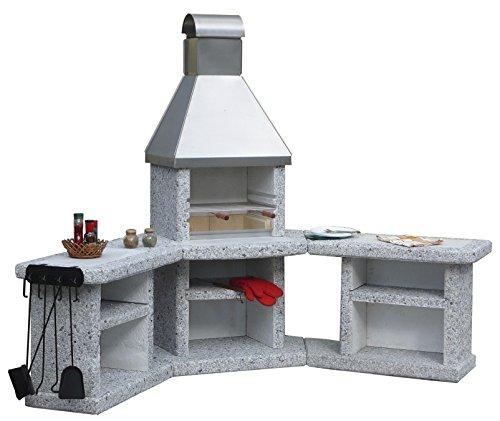 Toskana Edelstahl Grillkamin Außenküche / Wellfire