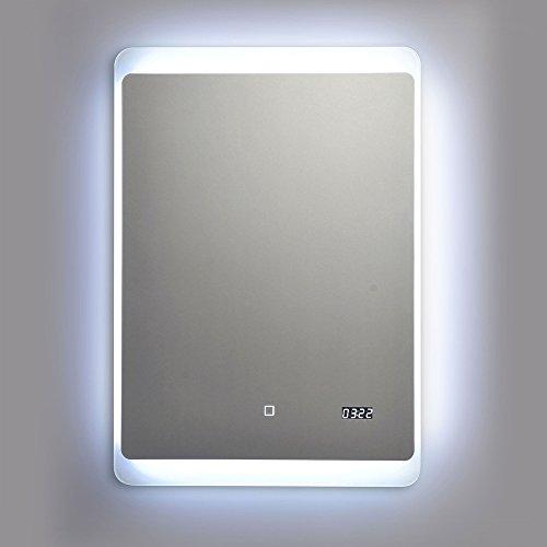 wandspiegel mit led beleuchtung 50x70cm m bel24. Black Bedroom Furniture Sets. Home Design Ideas