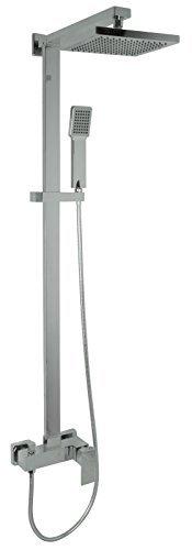 Welfenstein Aufputz Set 2S-1483 Regendusche 20x20cm Duschsystem mit Armatur