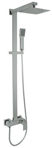 Welfenstein Aufputz Set 2S-ES20 Regendusche 20x20cm Duschsystem mit Armatur