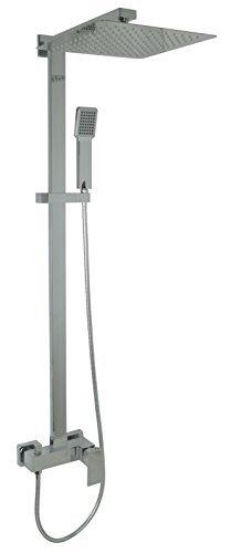 Welfenstein Aufputz Set 2S-ES30 Regendusche 30x30cm Duschsystem mit Armatur