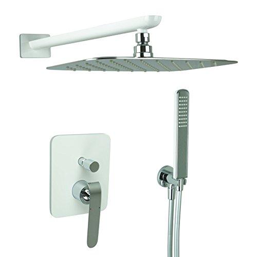 welfenstein regendusche komplett set zs chromweiss unterputz duschset dusche 0 m bel24. Black Bedroom Furniture Sets. Home Design Ideas