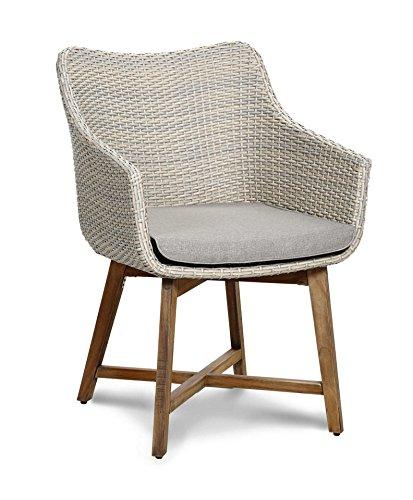 baumarkt direkt Gartenstuhl »Paterna« (2Stück) 2 Stühle, altweiß
