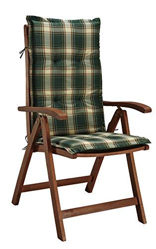 baumarkt direkt Hochlehner »La Plata« (2 Stück) 2 Stühle, braun