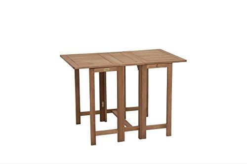 baumarkt direkt Klapptisch »Holz« 107 cm x 65 cm, braun
