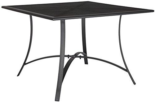 baumarkt direkt Tisch »Montreal« 110 cm x 110 cm, schwarz