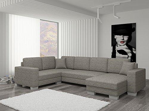 Couch couchgarnitur sofa polsterecke mc 08 u for Couchgarnitur wohnlandschaft
