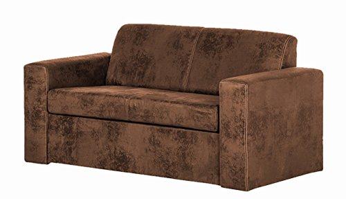 SAM® Design Schlafsofa Fusion in Wildlederoptik Sofa aus Stoff 165 cm modernes Design Verwandlungssofa umbaubar angenehmer Sitz - und Liegekomfort Lieferung teilzerlegt per Spedition