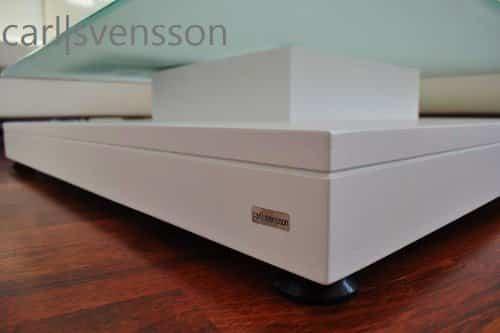 DESIGN COUCHTISCH Tisch V-570 weiß Milchglas Carl Svensson