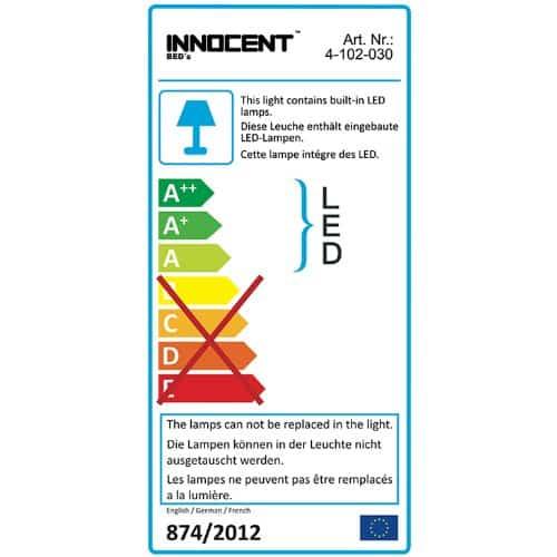 Innocent Polsterbett Kunstleder mit LED-Beleuchtung Misani