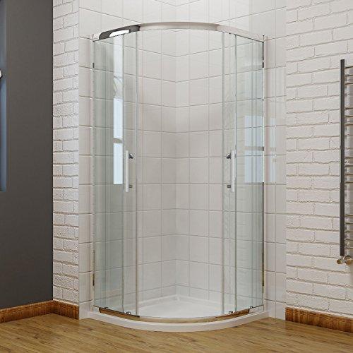 viertelkreis duschkabine 90x90cm duschabtrennung mit. Black Bedroom Furniture Sets. Home Design Ideas