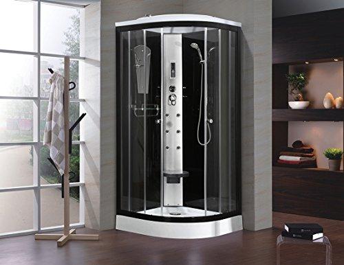 Duschkabine Regendusche Duschtempel Dusche Duschpaneel Duschsäule 90 x 90 cm