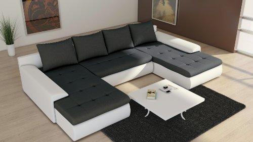 Sofa Couchgarnitur Couch Sofagarnitur FUTURE 2.1 U Polstergarnitur Polsterecke Wohnlandschaft mit Schlaffunktion