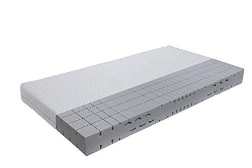 orthopädische 7 Zonen Kaltschaummatratze Sleep-Line-Classic Medicottbezug Härte: H2 (bis max. 85kg) Gr. 140x200 cm