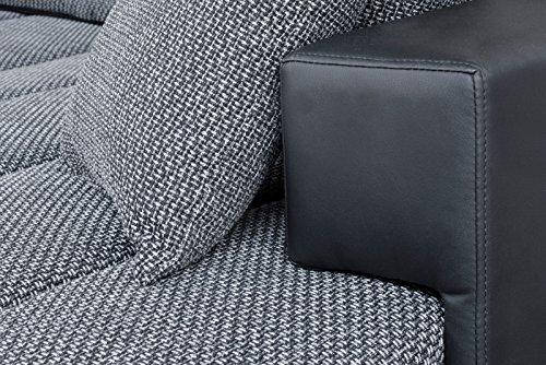 Couchgarnitur Eckgarnitur Polstergarnitur NI mit Relaxcharakter und Ruhefunktion