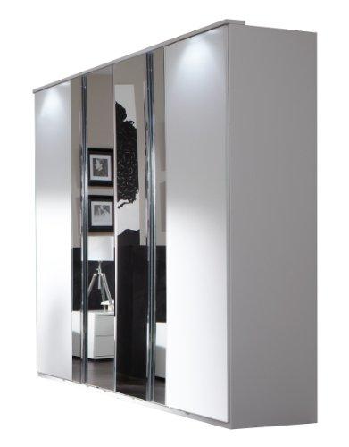 Wimex Kleiderschrank/ Drehtürenschrank Davos, (B/H/T) 180 x 210 x 58 cm, Weiß