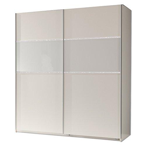 Wimex Kleiderschrank/ Schwebetürenschrank Blitz, 2 Türen, (B/H/T) 180 x 198 x 64 cm, Weiß