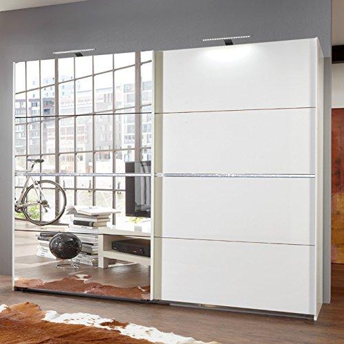 Wimex Kleiderschrank/ Schwebetürenschrank Paradise, 2 Türen, (B/H/T) 270 x 210 x 64 cm, weiß