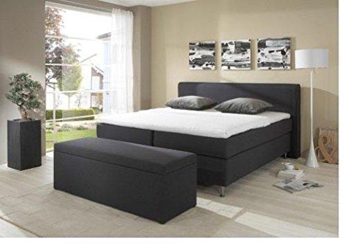 Breckle Boxspringbett 180 x 200 cm Cozy Box Miodormio TFK 1000 Formschaummatratze My Balance 20 Topper Gel Premium Comfort