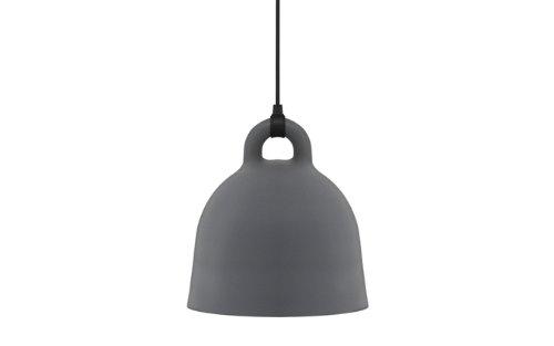 Normann Copenhagen - Bell Hängeleuchte - grau - Ø 55 cm - Andreas Lund & Jacob Rudbeck - Design - Deckenleuchte - Pendelleuchte - Wohnzimmerleuchte