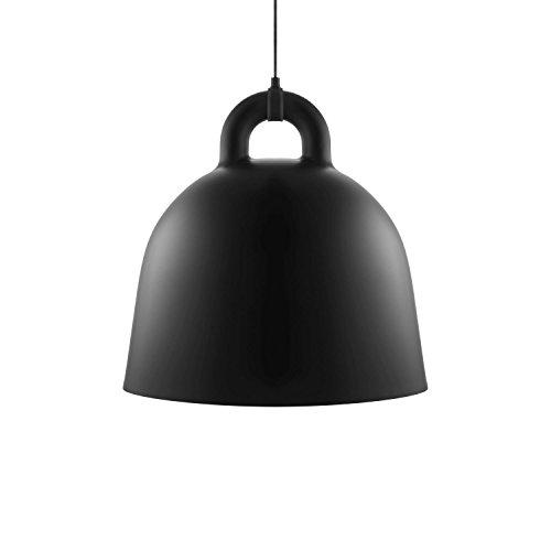 Normann Copenhagen - Bell Hängeleuchte - schwarz - Ø 55 cm - Andreas Lund & Jacob Rudbeck - Design - Deckenleuchte - Pendelleuchte - Wohnzimmerleuchte